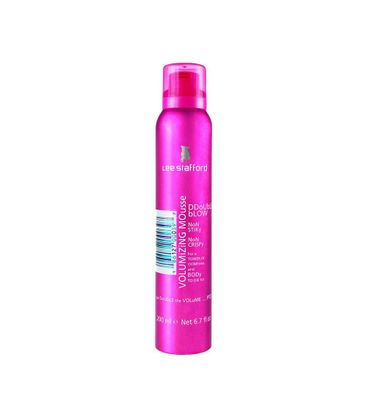 Lee Stafford Double Blow Volumizing Mousse Modelador 200ml