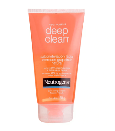 Neutrogena Deep Clean Grapefruit Sabonete Facial 150g