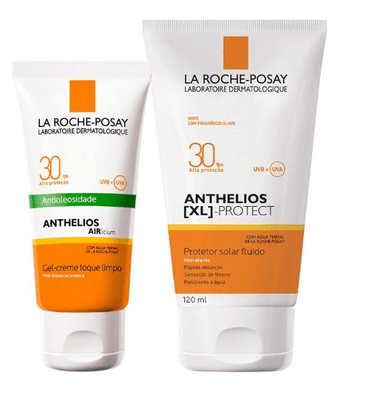 La-Roche-Posay-Kit-Anthelios-Airlicium-FPS-30-50g---XL-Protect-Corpo-FPS-30-120ml