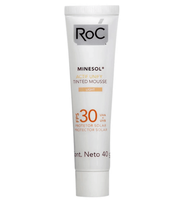 Roc-Minesol-Actif-Unify-Tinted-Mousse-Protetor-Solar-FPS-30-40g---01-Light