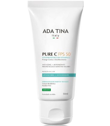 Anti-Idade-Ada-Tina-Pure-C-FPS-50-50ml
