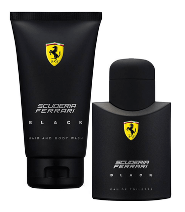 Ferrari-Kit-Perfume-Scuderia-Black-Eau-de-Toilette-Masculino-75ml---Gel-de-Banho-150ml