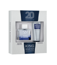 Kit-Perfume-Antonio-Banderas-King-of-Seduction-Masculino-Eau-de-Toilette-100ml---Pos-Barba-75ml