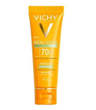 Protetor-Solar-Vichy-Ideal-Soleil-Purify-FPS-70-40g