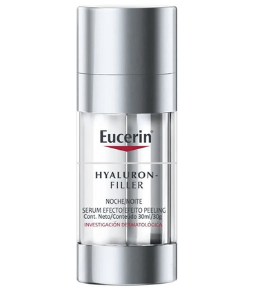 Serum-Facial-Eucerin-Hyaluron-Filler-Night-Peeling-30ml