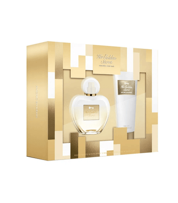 Kit Perfume Antonio Banderas Her Golden Secret Feminino EDT 80ml + Loção Hidratante 75ml